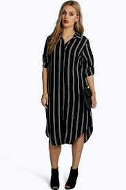 casual style striped dress shirt for women womenitems com