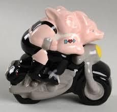 Clay Art Biker Hogs