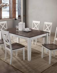 A La Carte Rectangular Farmhouse Dining Table W/ 6 Chairs - Bargain ... Farmhouse Ding Tables Custom Custmadecom Baluster Turned Leg Table For The Home Kitchen Tables Chairs Inspiration And Design Ideas Magnolia By Joanna Gaines With 8 Keeping Better Homes Gardens Axel Patio Roeper Distressed Reviews Joss Main Riverside Fniture Aberdeen 7 Piece Set Goffena Chunky Is The New Chic Plans You Need To See 75 Build Shantyhousecrash Youtube Free Decor And Dog