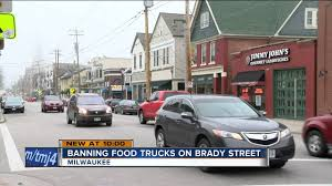 Common Council Approves Food Truck Ban On Brady Street - YouTube Pin By Flowers For Dreams On The Flower Truck Pinterest Food Marcellos Taco Trucks At Every Mosque Campaign Unites Latinos And Muslims In Milwaukee Wi Helping Businses Reach More Customers W Vehicle Festival Menomonee River Valley Cinco De Mayo Fiest Taco Truck Wisconsin Olanos Empanadas Roaming Hunger News Updates Page 6 West Allis Farmers Market 10 Hottest The Us Zagat Wicked Urban Grill Jamaican Kitchen