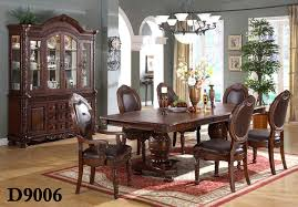Upholstered Dining Chairs Set Of 6 by 7 Pc Upholstered Dining Set By Beverly Interiors Includes Table