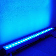 silent mode 24x3w led wall washer ip65 rgb tricolor wash outdoor