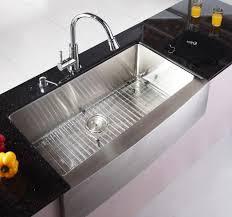 kraus 36 inch farmhouse bowl stainless steel kitchen sink