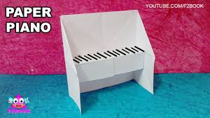 Piano Easy Oarigami For Kids