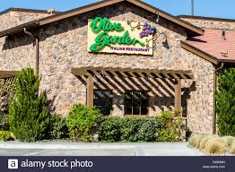 The Olive Garden Restaurant in Sparks Nevada at the Legends