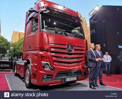 100 Thomas New Trucks Berlin Germany 05th Sep 2018 The New Model Of The Daimler Truck