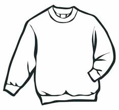 Winter Sweater Coloring Page