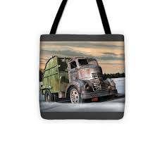 1940 Gmc Garbage Truck Tote Bag For Sale By Stuart Swartz - 13