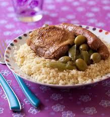 cuisine d hiver couscous de poulet et merguez aux olives et citron confit les