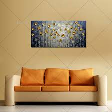 Hand Painted Modern Abstract Gold Grey Oil Painting Large Vertical Textured Wall Decorative Canvas Art Picture For Living Room In Calligraphy