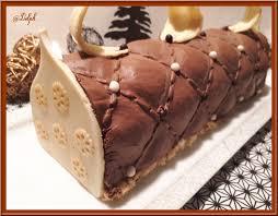 hervé cuisine buche marron bûche chocolat et insert à la poire oh la gourmande