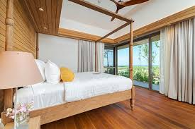 the pines master bedroom detail photos natai phuket