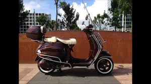 Vespa LX Touring Customized By DutchWesp