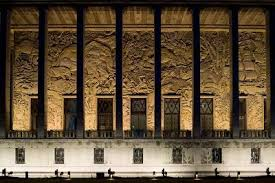 musee de la porte doree palais de la porte dorée deco ceramic glass light