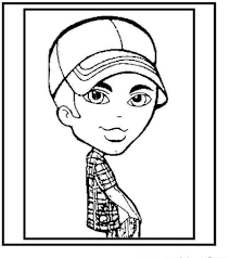 Bratz Boys Free Printable Coloring Pages No 8