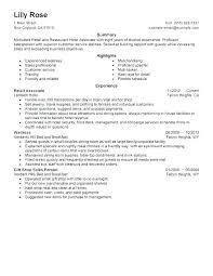 Resume Of Sales Associate Retail No