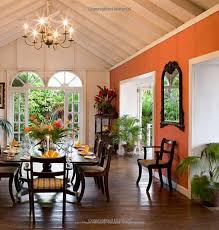 Coral Wall British West Indies Style Antigua Jamaica Barbados And