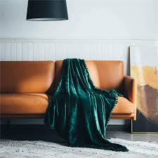 sofa plüsch flanellschläfchendecke 130 x 150cm pink bett