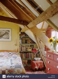 100 Beams In Ceiling Rustic Wooden Beams And Apex Ceiling In Country Bedroom With