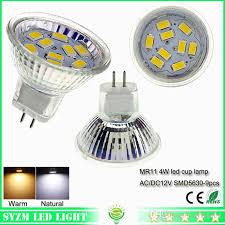 led spot light bulbs mr11 smd5630 cup l lighting ac dc 12 volt