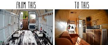 Van Conversion Book Before After