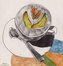 GIF Coffee Art Cup Illustration