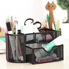 rangement stylo bureau organiseur rangement de bureau stylo crayons maille support