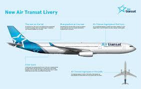 air transat lyon montreal new livery to celebrate transat s 30th anniversary air transat