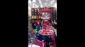 Frosty The Snowman Christmas Tree Ornaments by Frosty The Snowman Lighted And Musical Lamppost Youtube