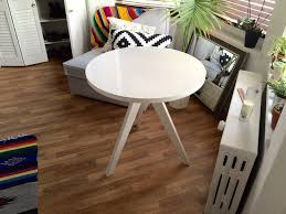 West Elm Scoop Back Chair Assembly by West Elm Tripod Bistro Table White In Williamsburg Kings County