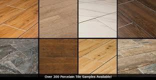 porcelain tile that looks like wood vs hardwood vs vinyl vs