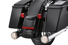 Harley Davidson Light Bar by Bullet Rear Light Bar Gloss Black 67800483