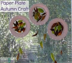 Step 4 Paper Plate Autumn Craft