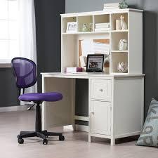 Cute Corner Desk Ideas by Furniture Appealing Design Of White Corner Desk With Hutch