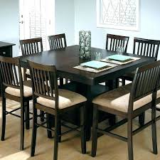 Tall Dining Tables Table Set Room High Interior Design
