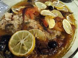 recette cuisine poisson recette de poisson au four à la mode grecque