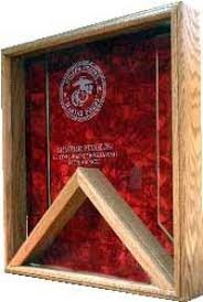 Retirement Flag Case Marine Corp Our