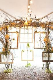 Branches Wedding Decor Rustic Country And Frames Backdrop Tree Centerpieces