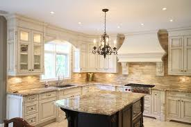 French Country Galley Kitchen