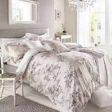 Holly Willoughby Jenna Pink  Cotton Reversible Duvet Cover