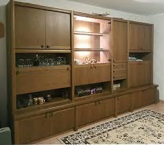 schrankwand wohnzimmer gebraucht eiche rustikal