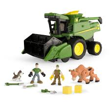 100 John Deere Toy Trucks Farm Playset 70 Pc Box Walmartcom