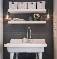 Trending Bathroom Shelf Ideas To Try This Year | Real Simple Small Space Bathroom Storage Ideas Diy Network Blog Made Remade 15 Stunning Builtin Shelf For A Super Organized Home Towel Appealing 29 Neat Wired Closet 50 That Increase Perception Shelves To Your 12 Design Including Shelving In Shower Organization You Need To Try Asap Architectural Digest Eaging Wall Hung Units Rustic Are Just As Charming 20 Best How Organize Tiny Doors Combo Linen Cabinet