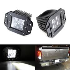 Driving Lights For Trucks by Amazon Com Ijdmtoy 2 Dually Flush Mount 4d Optic Projector Lens