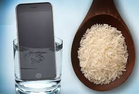 Dropped your iPhone in water DON T use rice to fix it