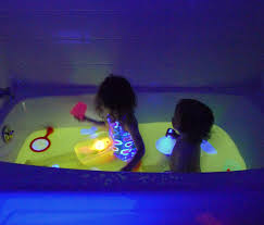 Glow In The Dark Mosaic Pool Tiles by Safe And Edible Glow Water For Baths And Play