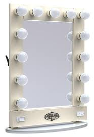 BeautyMarkz Makeup Hair Vanity Girl For Lighted Mirror Table Top