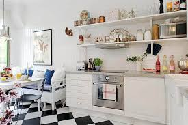 White Kitchen Cabinets And Shelves