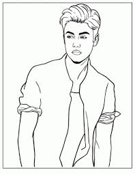 Full Size Of Coloring Pageelegant Justin Bieber Print Free Printable Pages Az Large