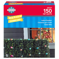 Meijer Home Wall Decor by December Home Net Light Set Multi Color 150 Ct Meijer Com